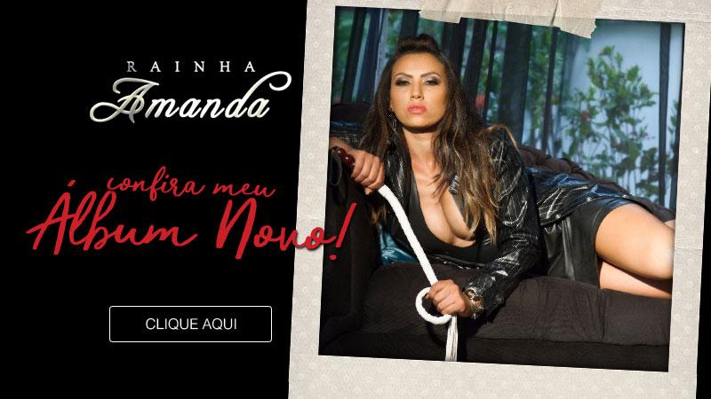 Álbum Novo - Rainha Amanda